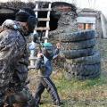 Юные кудоисты Чугуевского района сразились в пейнтбол